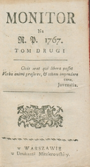 Monitor. R.1767 Nr 84