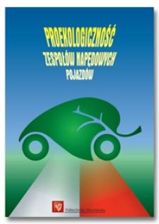 Proekologiczność zespołów napędowych pojazdów