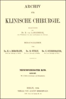 Die unblutige Reduction der angeborenen Hüftverrenkung, Archiv für Klinische Chirurgie, 1894, Bd. 49, S. 368-386