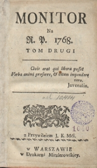 Monitor. R.1768 Nr 20