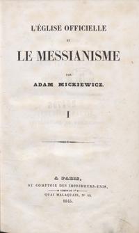 L'église officielle et le messianisme.1