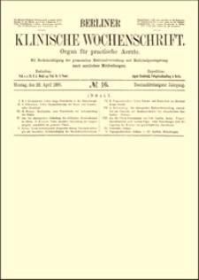 Ueber Thymusfütterung bei Kropf und Basedow'scher Krankheit, Berliner Klinische Wochenschrift, 1895, Jg. 32, S. 342-346