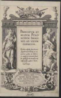 Principum Et Regum Polonorum Imagines [...]