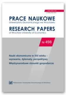 Offshoring procesów opartych na wiedzy – analiza eksportu usług
