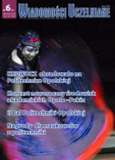 Wiadomości Uczelniane : pismo informacyjne Politechniki Opolskiej, nr 8 (196), luty 2010