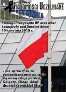 Wiadomości Uczelniane : pismo informacyjne Politechniki Opolskiej, nr 9 (197), kwiecień 2010