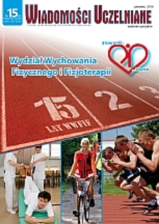 Wiadomości Uczelniane : pismo informacyjne Politechniki Opolskiej : wydanie specjalne, nr 15 (203), czerwiec 2010