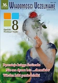 Wiadomości Uczelniane : pismo informacyjne Politechniki Opolskiej : wydanie specjalne, nr 16 (204), lipiec 2010