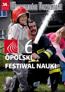 Wiadomości Uczelniane : pismo informacyjne Politechniki Opolskiej, nr 14 (177), lipiec 2008