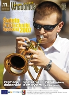 Wiadomości Uczelniane : pismo informacyjne Politechniki Opolskiej : wydanie specjalne, nr 11 (160),maj 2007