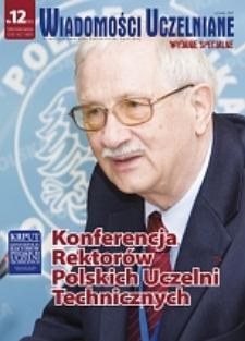 Wiadomości Uczelniane : pismo informacyjne Politechniki Opolskiej : wydanie specjalne, nr 12 (161), czerwiec 2007