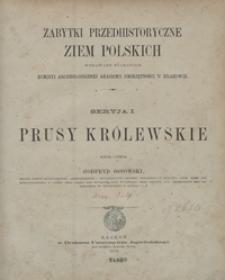 Prusy Królewskie = Prusse Royale