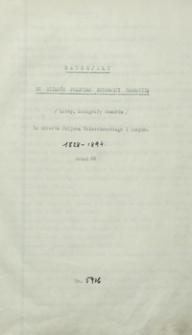 [Materiały do dziejów emigracji polskiej z lat 1828-1894. Autografy listów i wierszy różnych osób]
