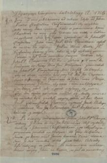 [Diariusze kongresu lubelskiego w 1716 roku, sejmików w Wiszni i Środzie w 1733 oraz sejmu zwyczajnego w Warszawie w 1766 roku]