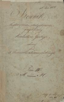 Słownik historyczno-statystyczno-geograficzny królestwa Galicyi. T. II. Miejscowości lit. A-H