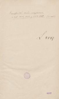 Pamiętniki moie woyskowe z lat 1812, 1813 y 1814, 1815