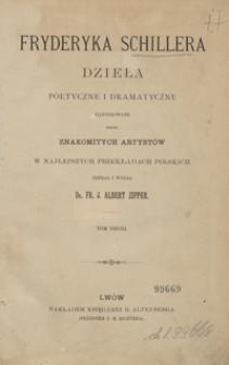 Fryderyka Schillera dzieła poetyczne i dramatyczne. Tom 2