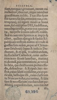 Stanislai Orichovii Roxolani Chimaera Sive De Stancari funesta Regno Poloniae Secta