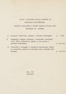Życie i przypadki Felixa Faustyna na Dodoszach Dodosińskiego. Powieść obyczajowa z czasów Augusta III-go.