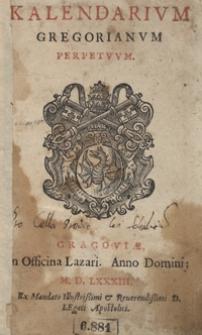 Kalendarium Gregorianum Perpetuum