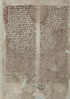 Tractatus de ecclesiastico interdicto Pauli doctoris oraz Regulae iuris magistrales [?] et legales