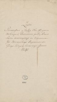 [Listy starszeństwa i zasług oficerów wojska koronnego i litewskiego z lat 1793-1794] T.2