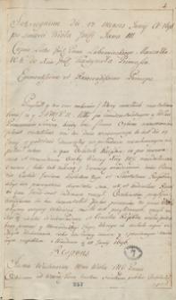 [Kopiariusz listów, pism publicystycznych, akt publicznych i innych materiałów odnoszących się do spraw politycznych Polski z 1696 roku]