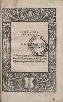 Encomia Luteri