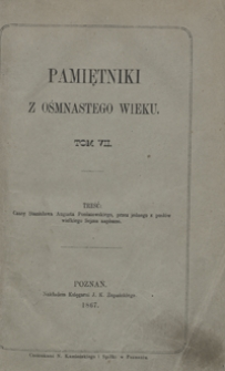 Czasy Stanisława Augusta Poniatowskiego