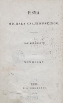 Pisma Michała Czajkowskiego