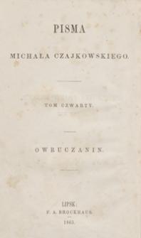Owruczanin : powieść historyczna z 1812 roku. - Wyd. 2, przejrz. i popr.