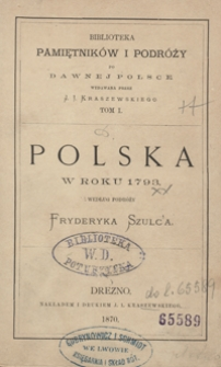 Polska w roku 1793