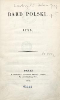 Bard polski : 1795