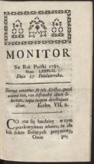 Monitor R.1781 Nr 85