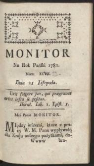 Monitor R.1781 Nr 92