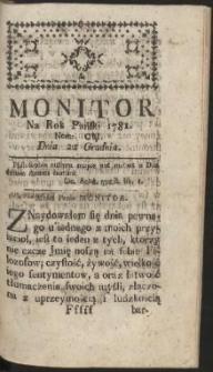 Monitor R.1781 Nr 101