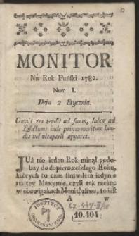 Monitor. R.1782 Nr 1