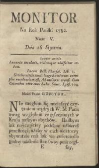 Monitor. R.1782 Nr 5