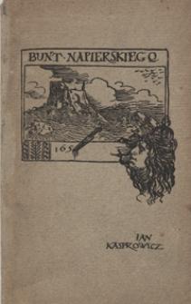 Bunt Napierskiego : poemat dramatyczny
