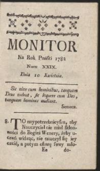 Monitor. R.1782 Nr 29