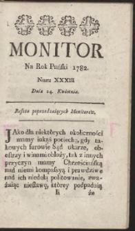 Monitor. R.1782 Nr 33