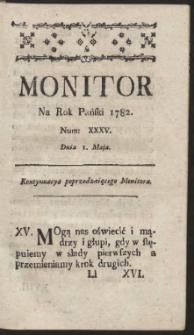 Monitor. R.1782 Nr 35