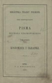 Koszowata i Ukrainki. - Wyd. 2, przejrz. i popr.
