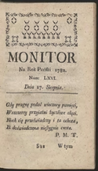 Monitor. R.1782 Nr 66