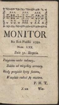 Monitor. R.1782 Nr 70