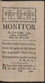 Monitor. R.1782 Nr 78