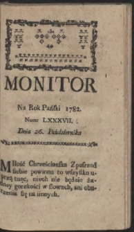 Monitor. R.1782 Nr 86