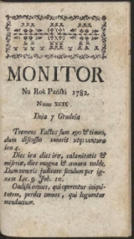 Monitor. R.1782 Nr 99