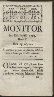 Monitor. R.1783 Nr 5