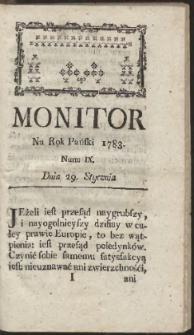Monitor. R.1783 Nr 9
